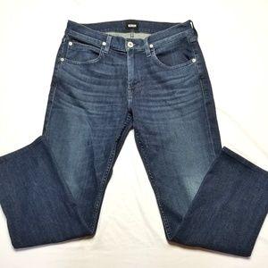 Hudson Byron Straight Leg Jeans jeans 32 inseam 27